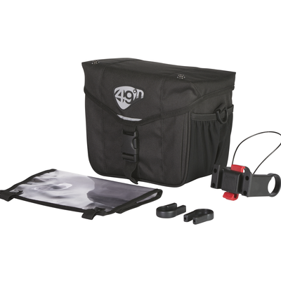 49N 49N STE-FOY 6L QR HANDLEBAR BAG BLACK