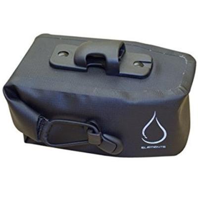 Serfas SERFAS MONSOON WATERPROOF SEAT BAG MEDIUM BLACK