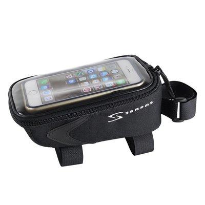 Serfas SERFAS CELL PHONE TOP TUBE BAG BLACK