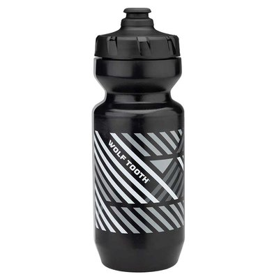 WOLF TOOTH WOLF TOOTH PURIST WATER BOTTLE BLACK 22OZ
