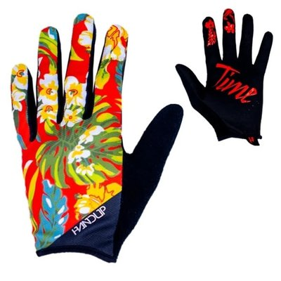 HANDUP HANDUP MOST DAYS GLOVE RED FLORAL