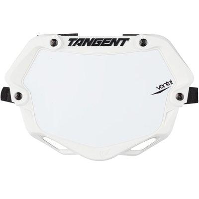 Tangent TANGENT MINI VENTRIL 3D NUMBER PLATE WHITE/WHITE