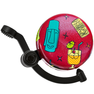 Electra ELECTRA DOMED LINEAR BELL TIKI RED