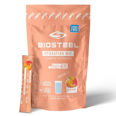 Biosteel BIOSTEEL HYDRATION MIX 16CT BAG PEACH MANGO