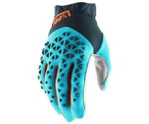 100% 100% Airmatic Glove Ice Blue