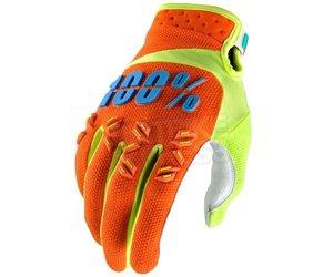 100% 100% Airmatic Glove Orange