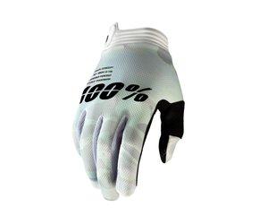 100% 100% Itrack Glove White Camo