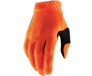 100% 100% Ridefit Glove Fluorescent Orange