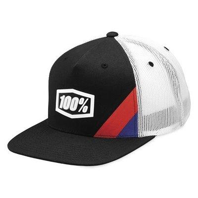 100% 100% CORNERSTONE YOUTH HAT BLACK