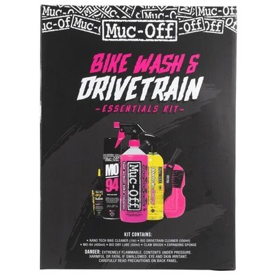 MUC OFF BIKE WASH & DRIVETRAIN ESSENTIALS KIT