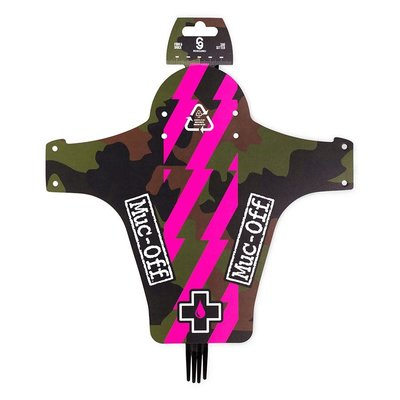 MUC OFF FRONT MUD GUARD PINK/CAMO