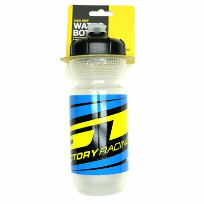 GT GT FACTORY FABRIC WATER BOTTLE 20 OZ CLEAR/BLUE