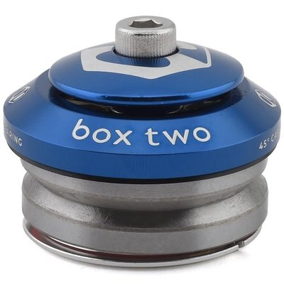"""Box BOX TWO SEALED INTEGRATED HEADSET 1-1/8"""" BLUE"""