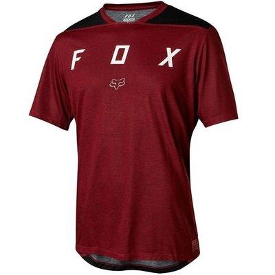 Fox FOX INDICATOR YOUTH SS JERSEY MEDIUM DARK RED