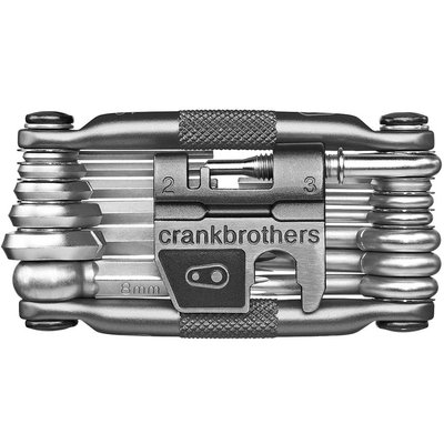 Crank Bros CRANK BROTHERS MULTI TOOL M19 SILVER