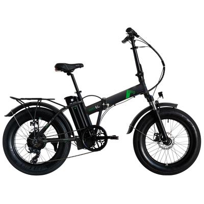 """Bici 2021 BICI E BIG FAT E-BIKE 20"""" BLACK"""