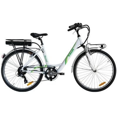 "Bici 2021 ITALWIN NUVOLA 4 24"" E-BIKE WHITE"
