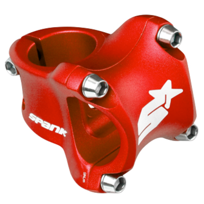 Spank SPANK SPIKE RACE 31.8MM STEM 50MM RED