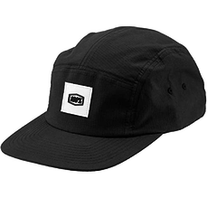 100% 100% PRENEZ CAMPER HAT BLACK
