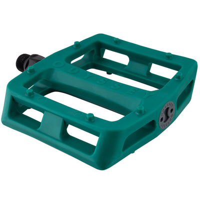 """Odyssey ODYSSEY GRANDSTAND 9/16"""" PC PEDALS GREEN"""