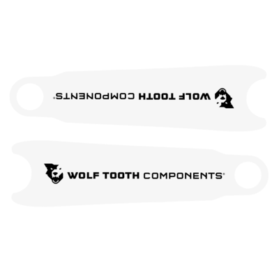 WOLF TOOTH WOLF TOOTH CRANKSKINS CLEAR