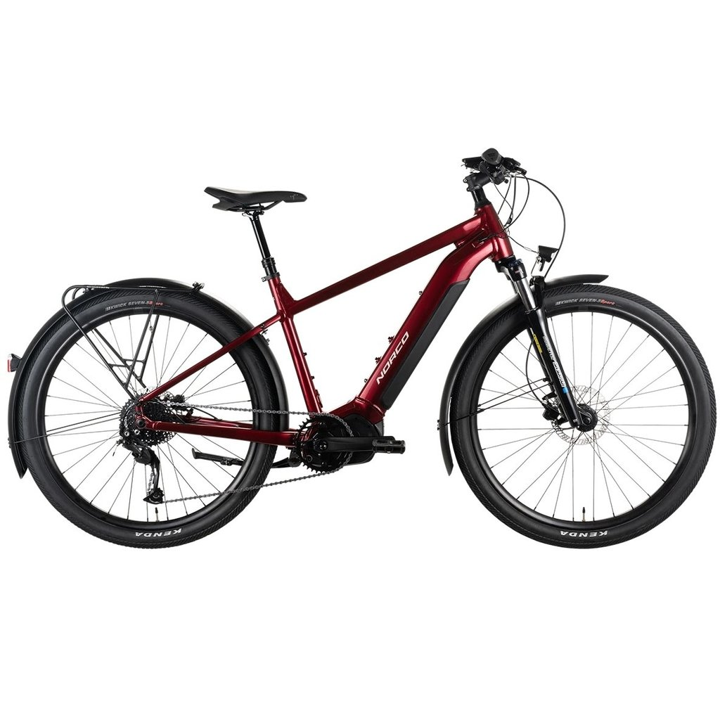 """Norco 2022 NORCO INDIE VLT 1 M/27.5"""" RED/SILVER"""