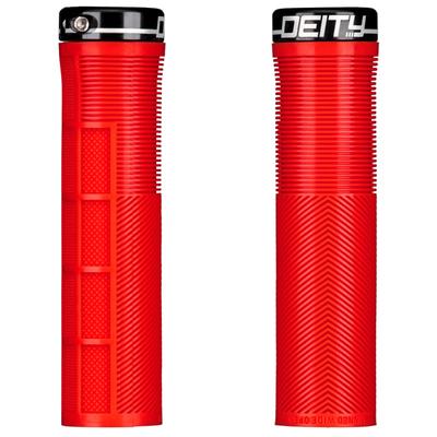 Deity DEITY KNUCKLEDUSTER GRIP RED