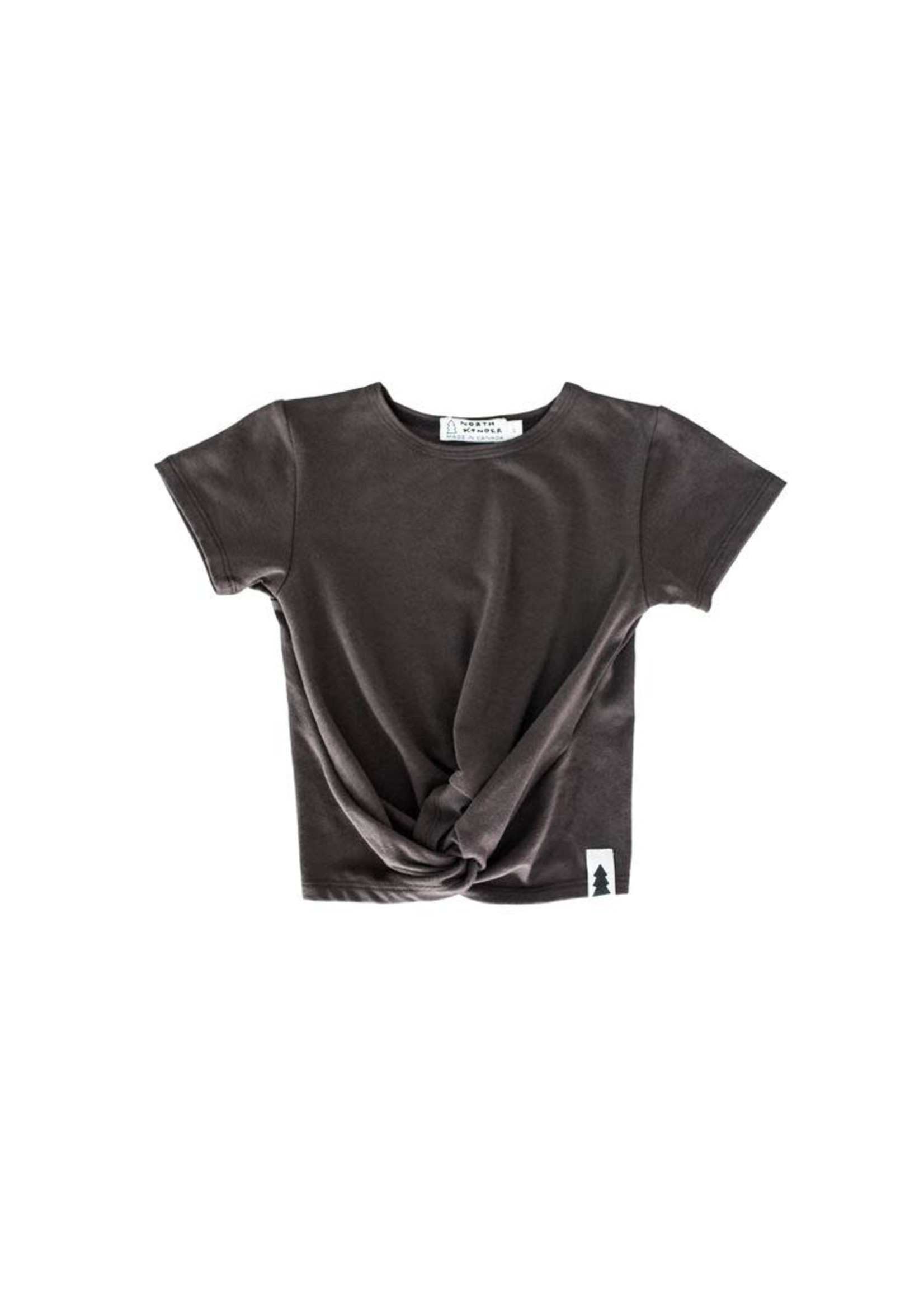 North Kinder NK knotted tee
