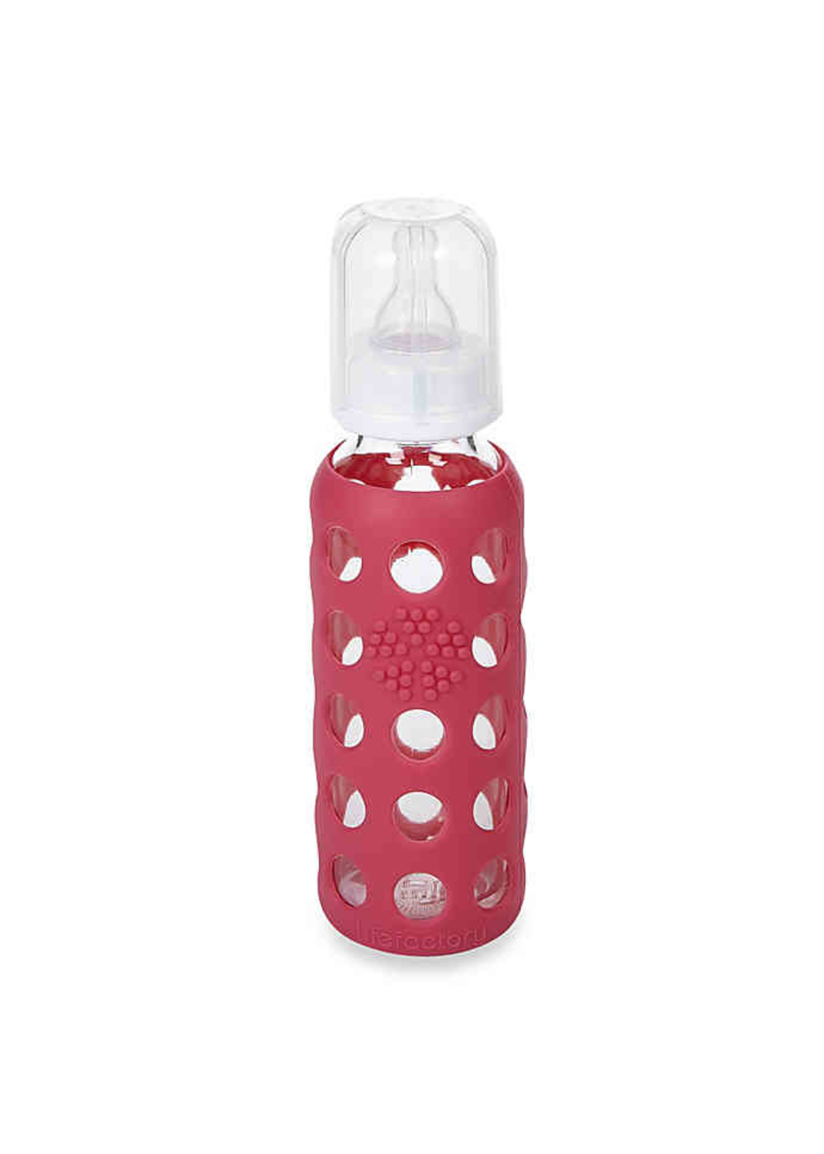 Life Factory LF glass baby bottle