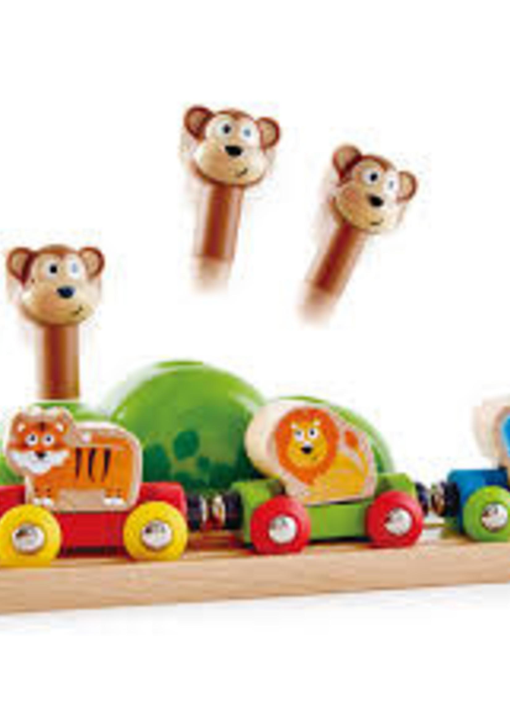 Hape Hape music & monkey railway