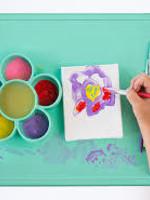 EZPZ Ezpz Flower Suction Playmat