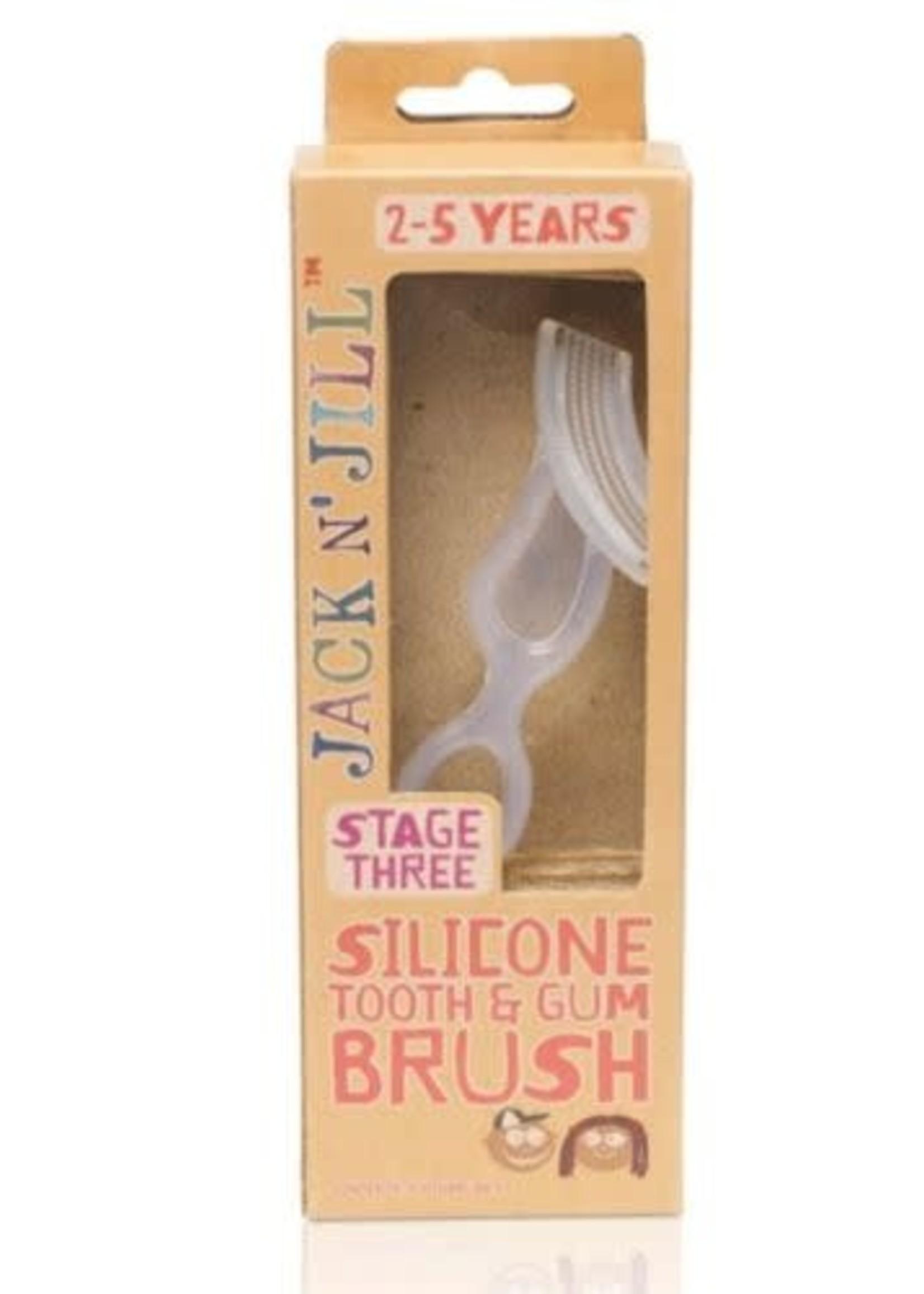 Jack N Jill Jack N Jill silicone tooth&gum brush
