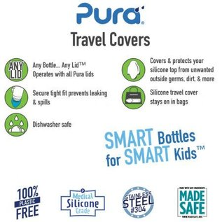 pura kiki pura silicone travel covers