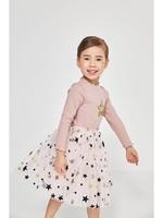Petite Hailey Petite Hailey Longsleeve Star Tutu Dress