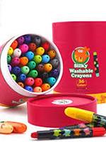 jar melo Jar Melo Silky Washable Crayons 36 colors