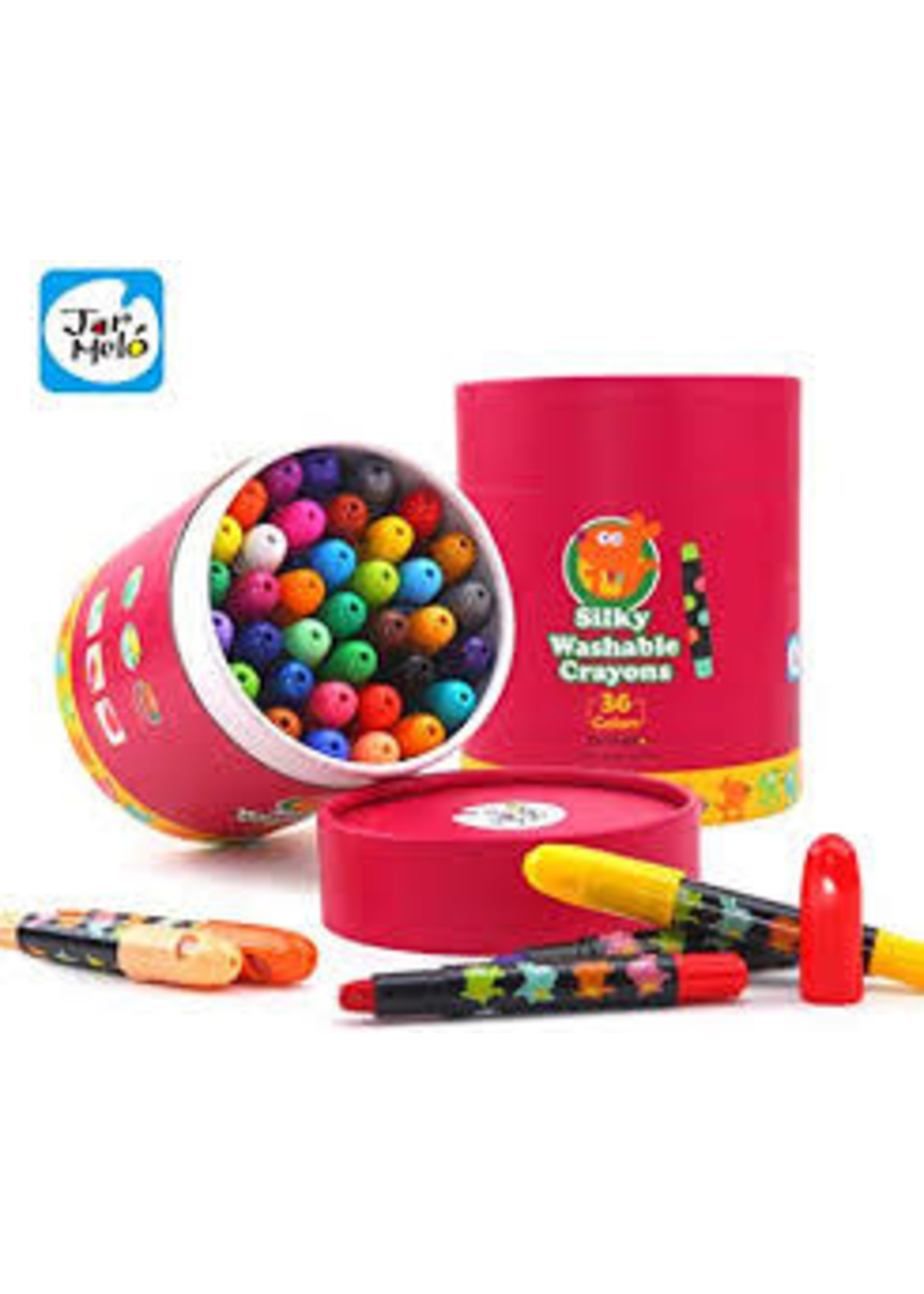 jar melo Jar Melo silky washable crayons - 36