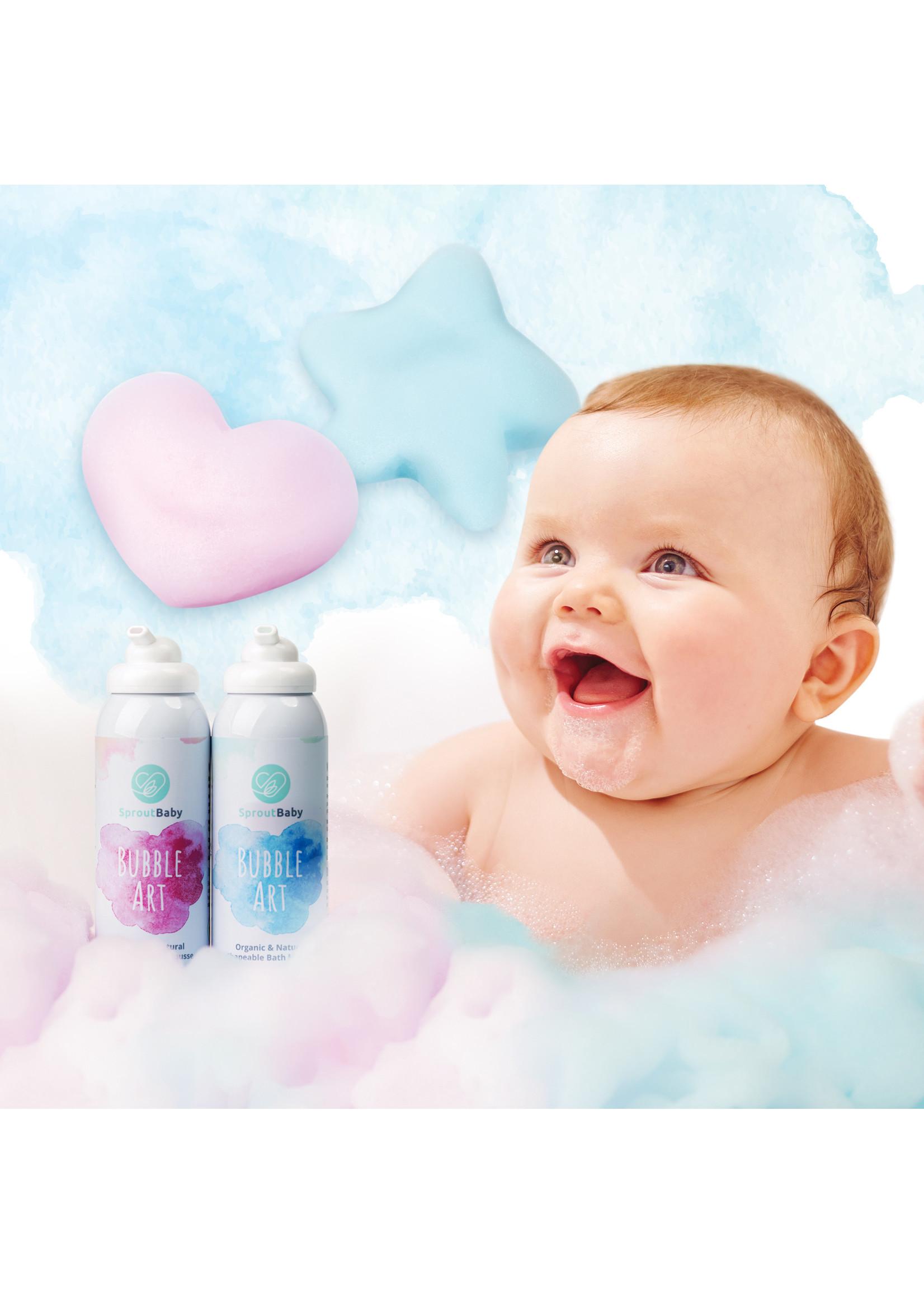 Sprout Baby Bubble Art – All Natural Shapeable Bath Mousse