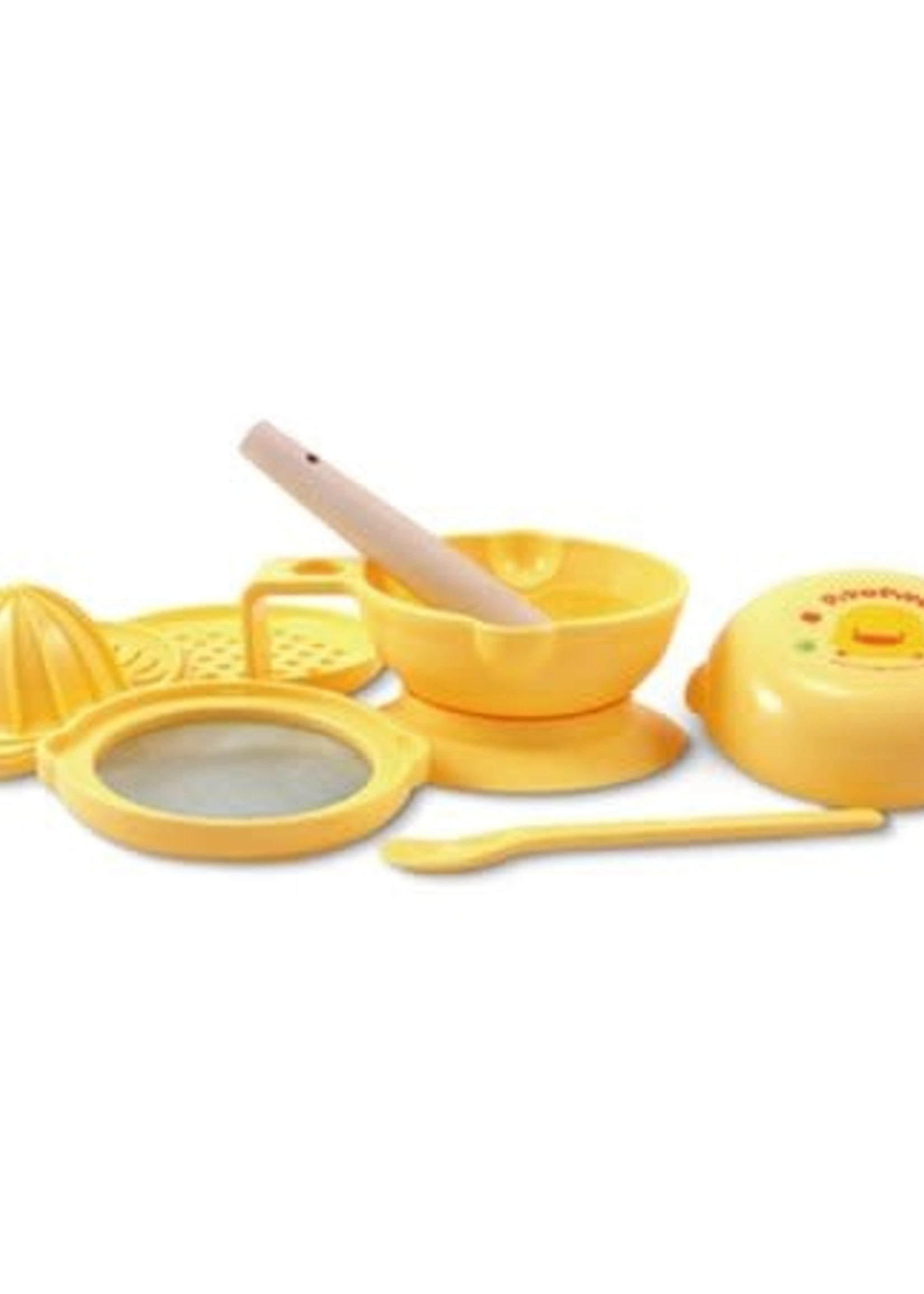 PiyoPiyo PiyoPiyo 7 piece  Baby Food Processor Set