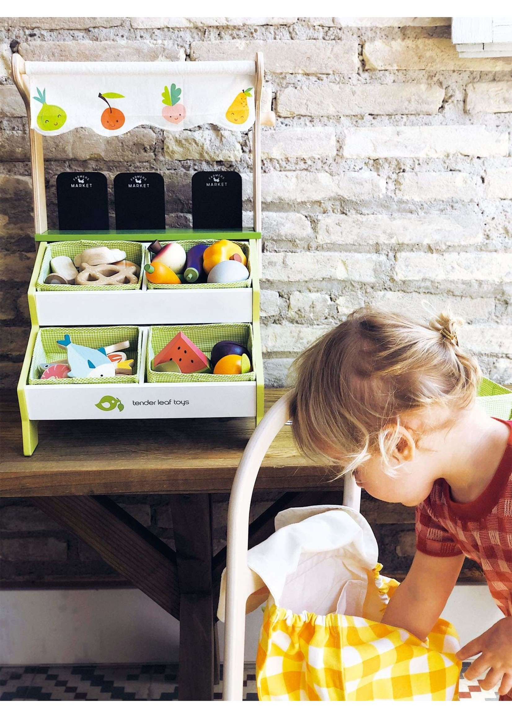 Tender Leaf Toy Tender Leaf Toys Farmers Market Stall