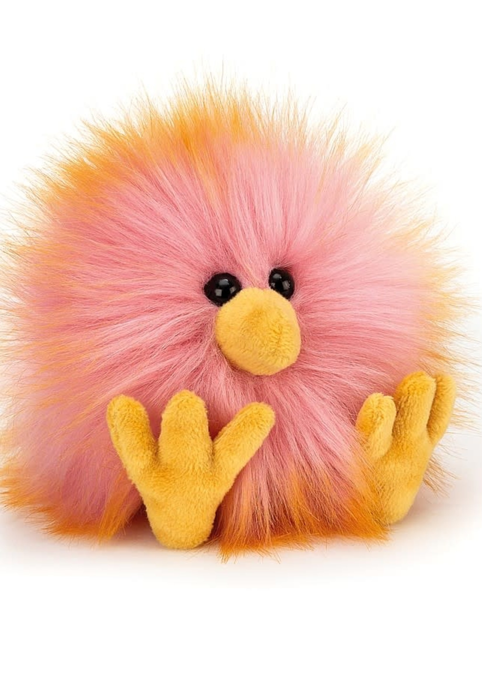 Jellycat JC Pink/Yellow Crazy Chick