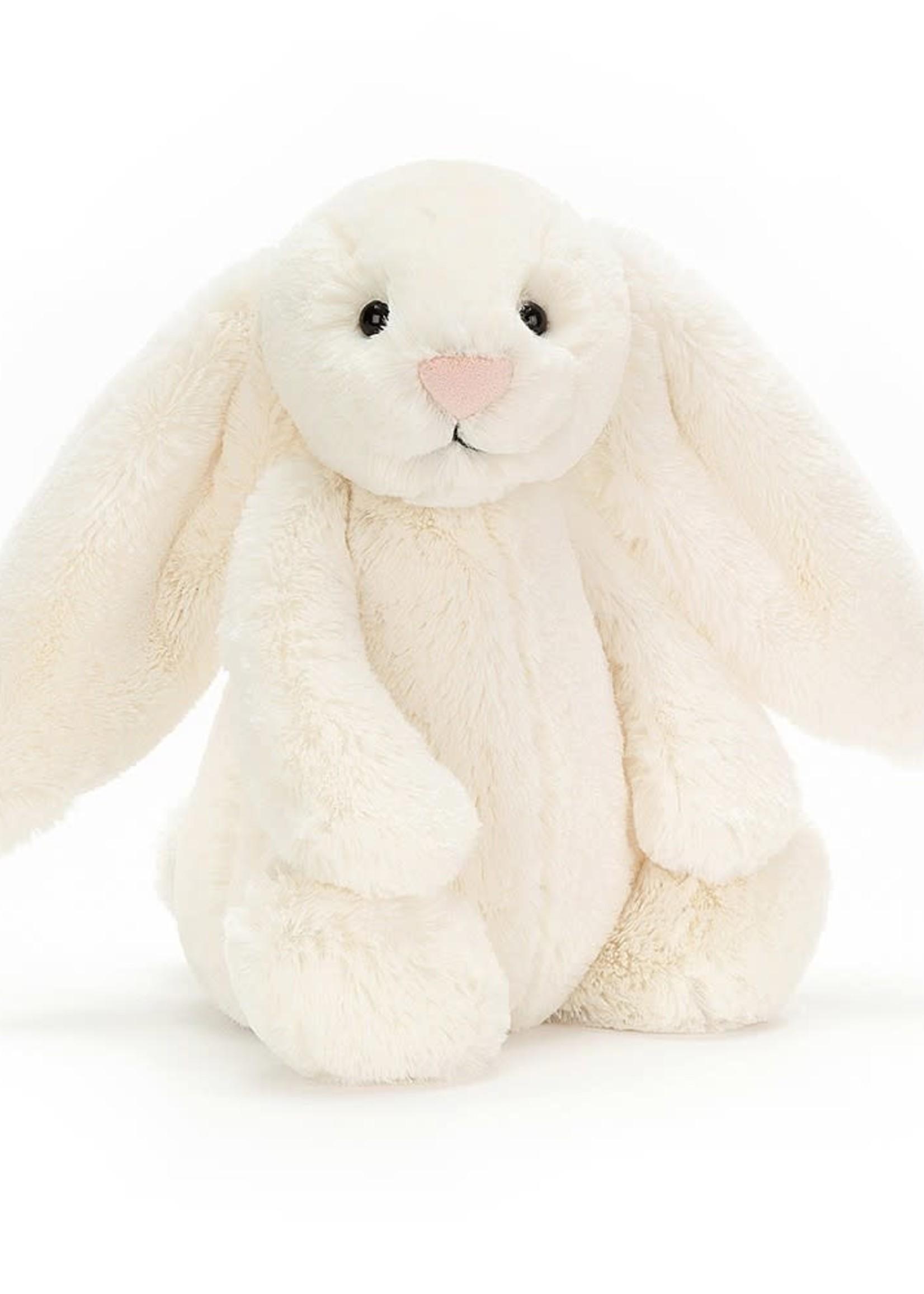Jellycat JC Medium Bashful Cream Bunny