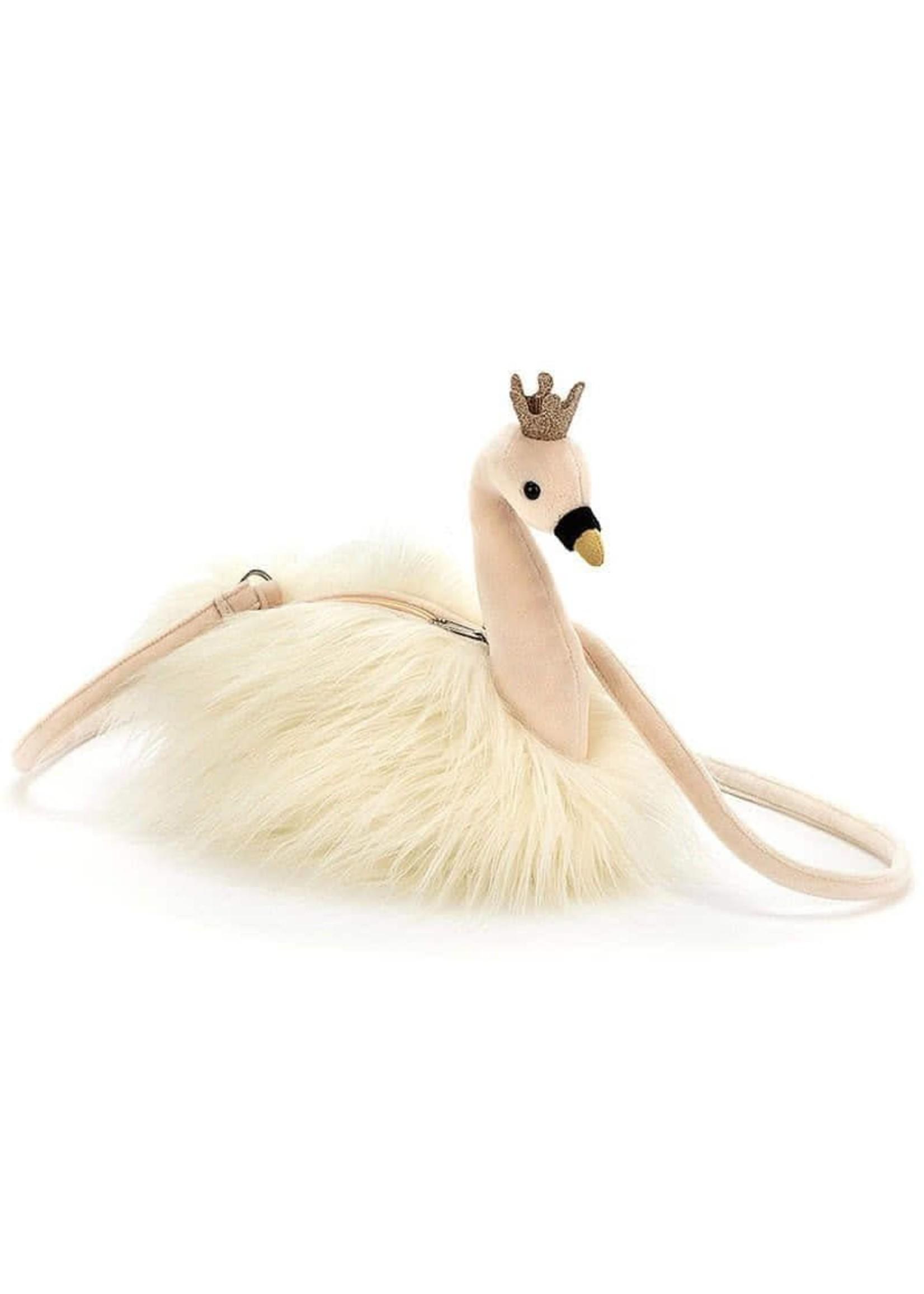 Jellycat JC White Swan Purse