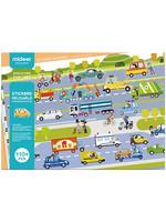 Mideer Mideer Reusable Sticker Activity Set (Transportation)