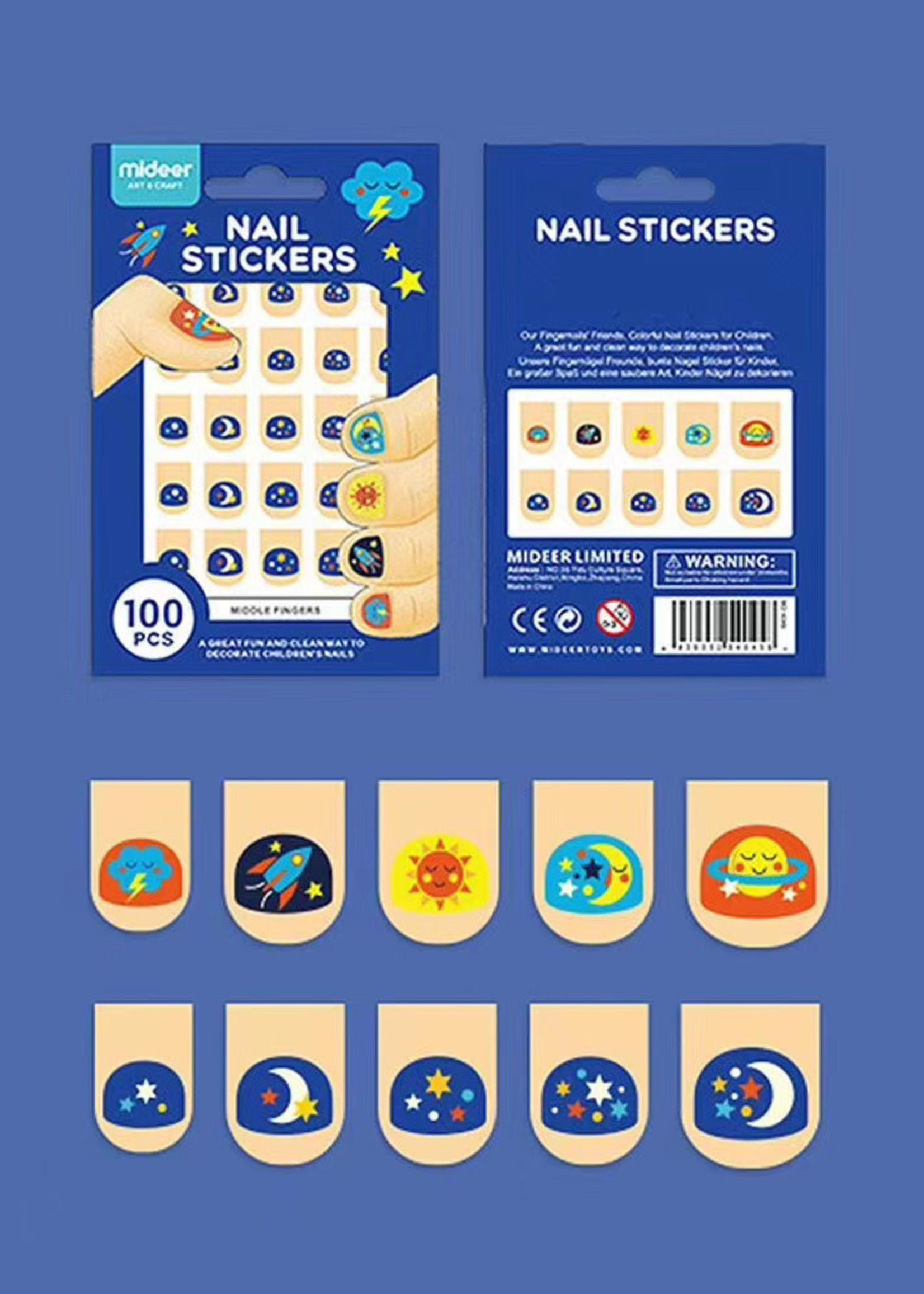 Mideer Mideer Nail Sticker Deep Blue
