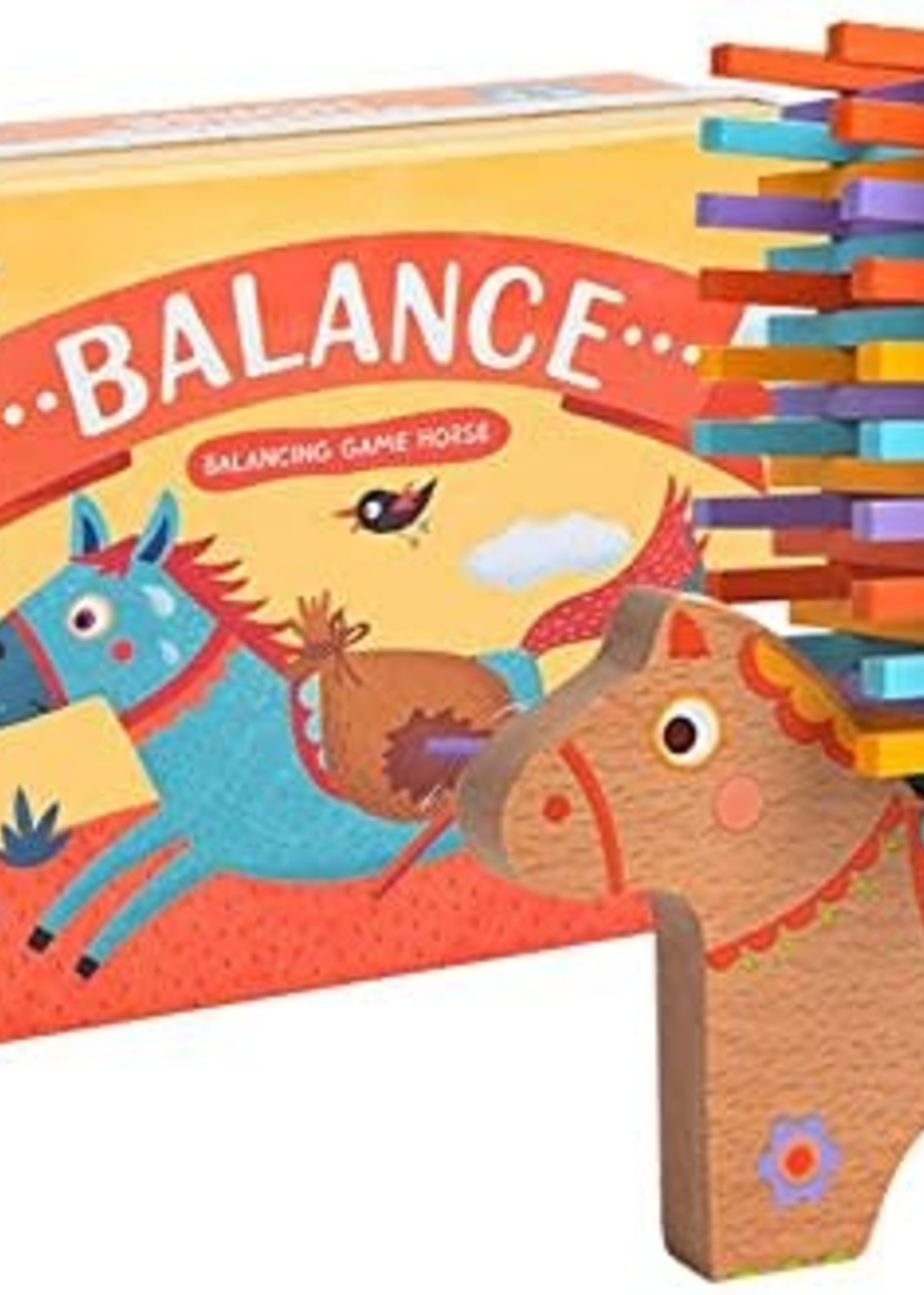 Mideer Mideer Wooden Balance Horse Game