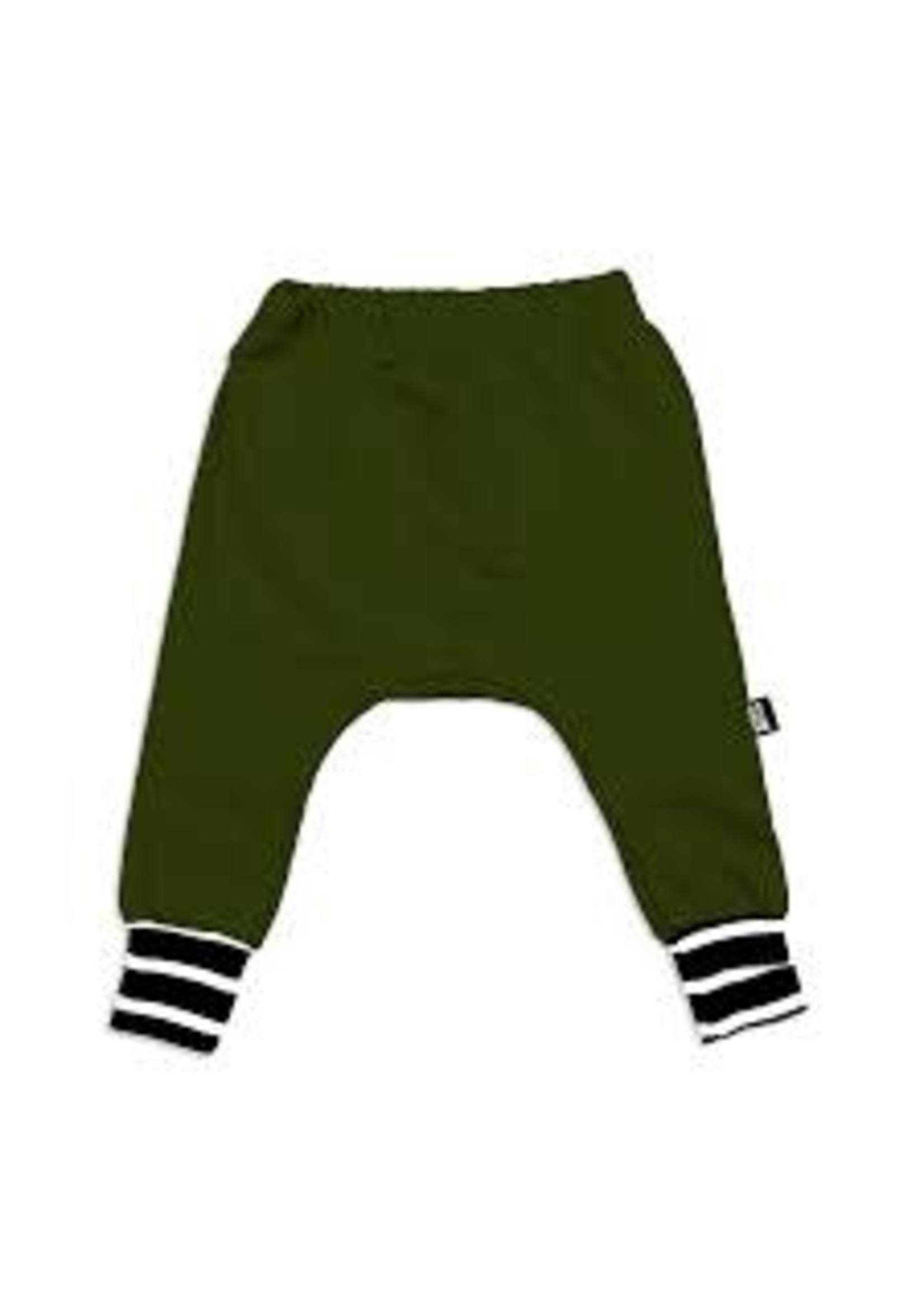 Whistle & Flute W&F Bamboo Jogger Olive