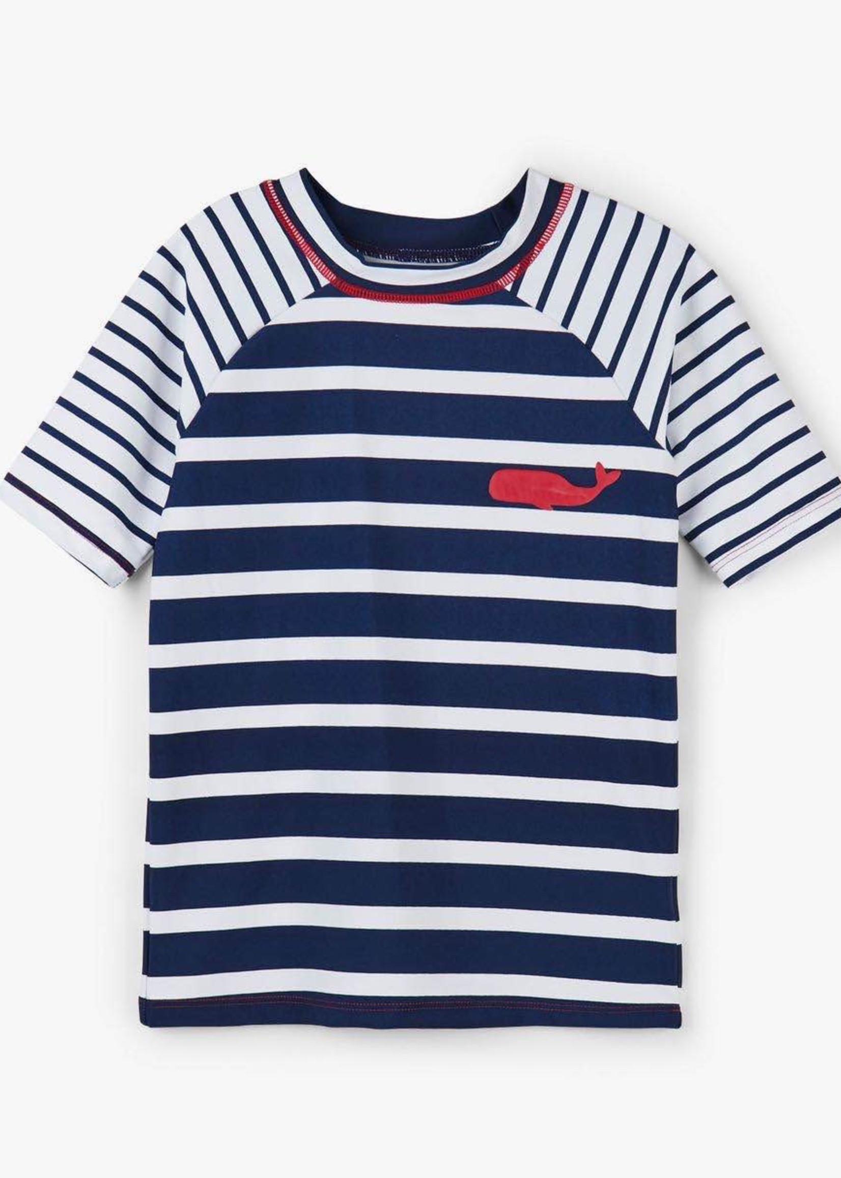 Hatley Hatley Swim Top (Nautical Stripe)