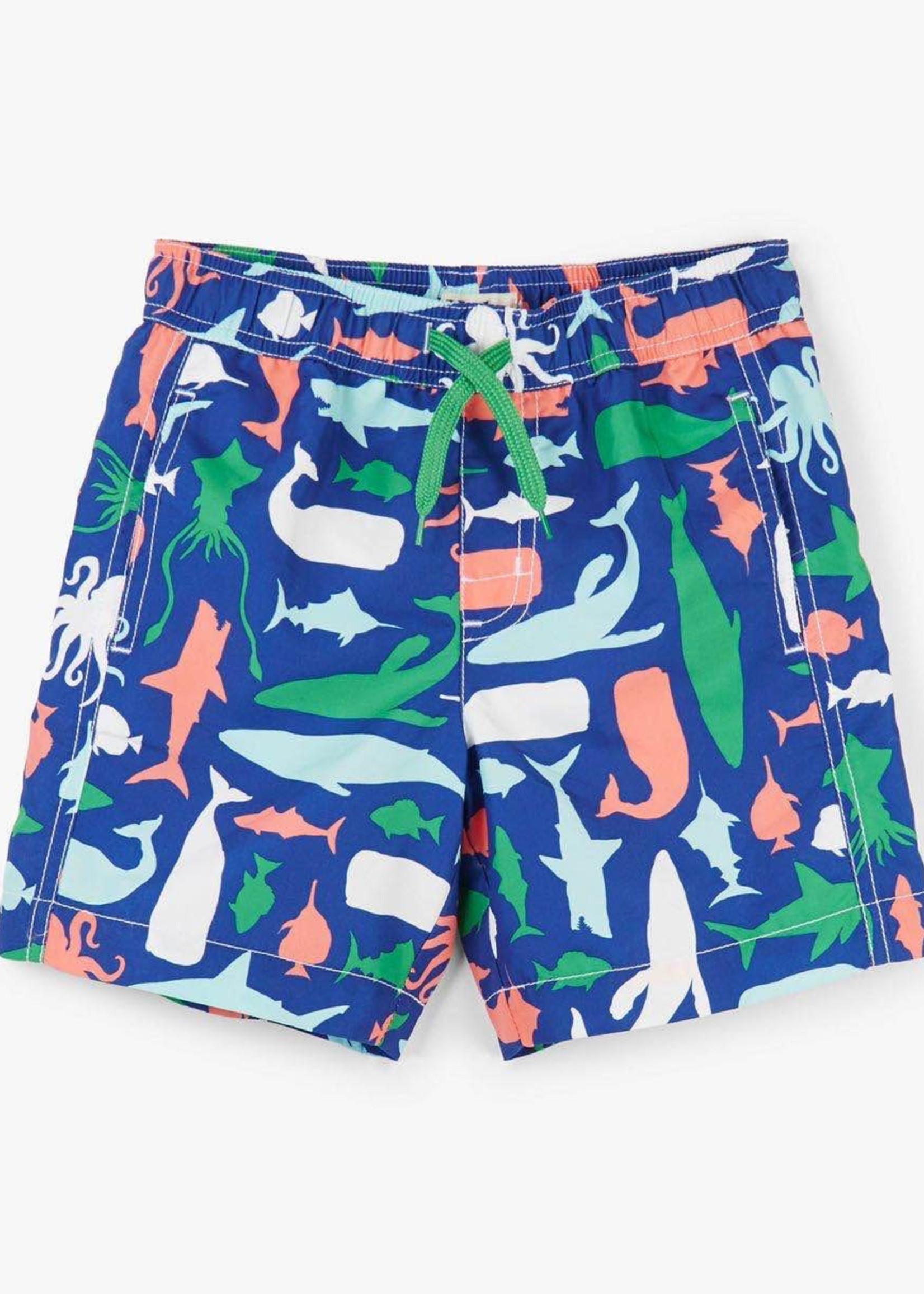 Hatley Hatley Swim Shorts (Sea Creature)
