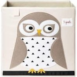 3 sprouts 3sprouts Storage Box (Owl)