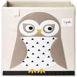 3 sprouts Storage Box (Owl)